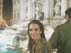 Paula Echevarría vacaciones en Roma: Fontana di Trevi
