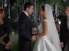 Paula Echevarría vestido de novia de Rosa Clará en Velvet: boda