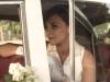Paula Echevarría vestido de novia de Rosa Clará en Velvet: modelo de piqué detalle