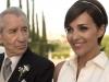 Paula Echevarría vestido de novia de Rosa Clará en Velvet: modelo de piqué