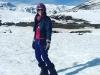 Paula Echevarría y David Bustamante vacaciones en Baqueira: esquiando