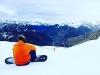 Paula Echevarría y David Bustamante vacaciones en Baqueira: posando en la nieve