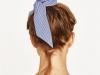 Peinados con bandanas: moño