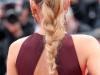 Peinados con trenzas: Blake Lively coleta alta