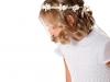 Peinados de comunión para niñas con pelo corto: portada