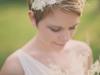 Peinados de novia con pelo corto 2016: pixie