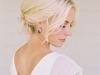 Peinados de novia con pelo corto 2016: recogido bajo
