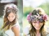 Peinados de novia románticos