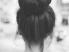 Peinados juveniles fáciles: moño alto bailarina