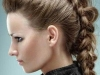 Peinados Originales para Carnaval: trenza punk