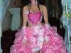 Peores vestidos de novia de la historia: corazones