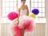 Peores vestidos de novia de la historia: pompones