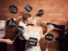 Photocall para bodas originales: bocadillos