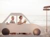Photocall para bodas originales: coche