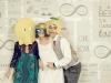 Photocall para bodas originales: disfraces