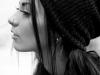 Piercing en la nariz: aleta aro