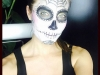 Pilar Rubio biografía: maquillaje Hallloween 2015