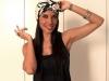 Pilar Rubio biografía: posando con turbante