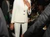 Porcelanosa fiesta en Nueva York: Irina Shayk de Versace