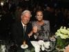 Porcelanosa fiesta en Nueva York: Isabel Preysler y Mario Vargas Llosa