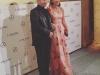 Premios MujerHoy 2016 alfombra roja: Paula Echevarría con José Sacristán