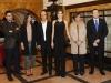 Premios Princesa de Asturias 2015 inauguración: Reina Letizia con Maribel Verdú y autoridades