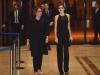 Premios Princesa de Asturias 2015 inauguración: Reina Letizia con Teresa Sanjurjo