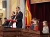 Princesa Leonor e Infanta Sofía en la XII Apertura de la Legislatura en el Congreso: discurso de Rey