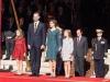 Princesa Leonor e Infanta Sofía en la XII Apertura de la Legislatura en el Congreso: con los Reyes en el desfile