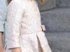 Princesa Leonor estilo de la Princesa de Asturias: Proclamación Rey Felipe VI vestido rosa
