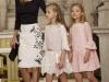 Princesa Leonor estilo de la Princesa de Asturias: acto abdicación Juan Carlos vestido blanco