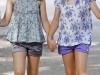 Princesa Leonor estilo de la Princesa de Asturias: con shorts y camiseta