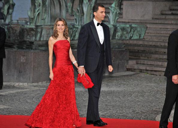 Vestidos de fiesta largos de la reina letizia