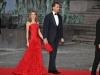 Reina Letizia looks de fiesta: boda Príncipes de Suecia precena