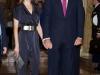 Reina Letizia looks de fiesta: coctail Premios Periodismo 2013