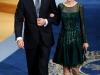 Reina Letizia looks de fiesta: coctail Premios Príncipe de Asturias 2013