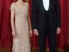 Reina Letizia looks de fiesta: gala cena Príncipe de Japón 2013