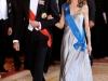 Reina Letizia looks de fiesta: gala Presidente Francia 2009