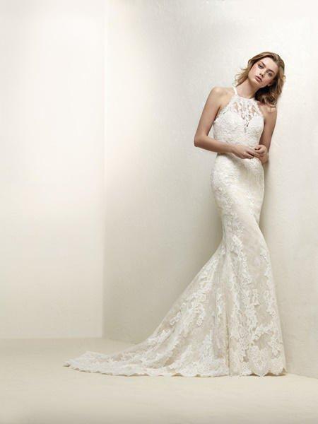 pronovias vestidos de novia 2018, ¡te vas a enamorar de su colección