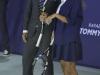 Rafa Nadal evento Tommy Hilfiger Madrid: el tenista y Malena Costa en la pista