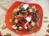 Ramos de chuches para novias con gominolas rojas y verdes