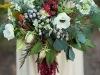 Ramos de novia con verduras y frutas: bayas