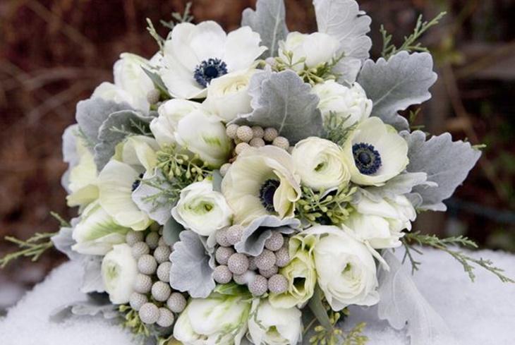 Ramos de novia de invierno flores y colores m s acertados - Fotos ramos de novia ...