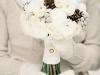 Ramos de novia de invierno: blanco