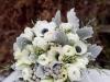 Ramos de novia de invierno: flores blancas con frutos