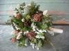 Ramos de novia de invierno: floras blancas y marrones