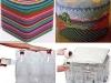 Reciclaje creativo con botellas de plástico: cojín para sentarse