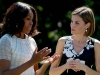 Reina Letizia cumpleaños en EEUU: con Michelle Obama