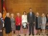 Reina Letizia cumpleaños en EEUU: con el Rey Felipe VI posando con autoridades