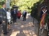 Reina Letizia cumpleaños en EEUU: con el Rey Felipe VI ofrenda floral